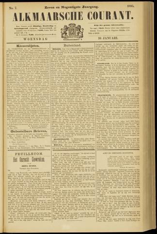 Alkmaarsche Courant 1895-01-16