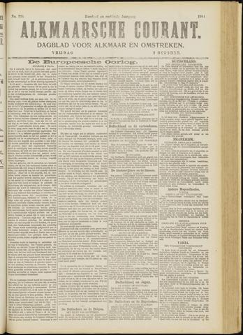 Alkmaarsche Courant 1914-10-02