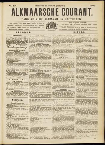 Alkmaarsche Courant 1906-07-31