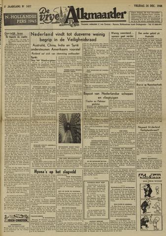 De Vrije Alkmaarder 1948-12-24