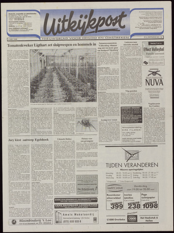 Uitkijkpost : nieuwsblad voor Heiloo e.o. 1996-05-08
