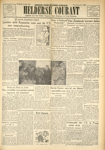 Heldersche Courant 1950-04-13