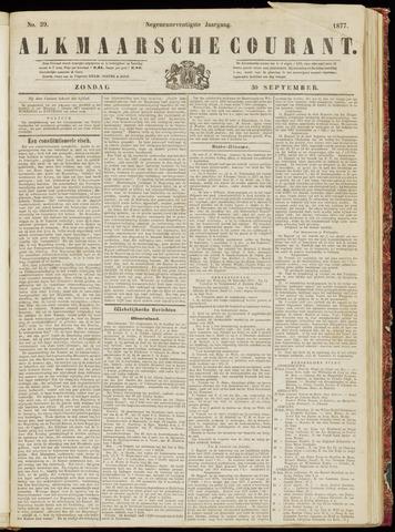 Alkmaarsche Courant 1877-09-30