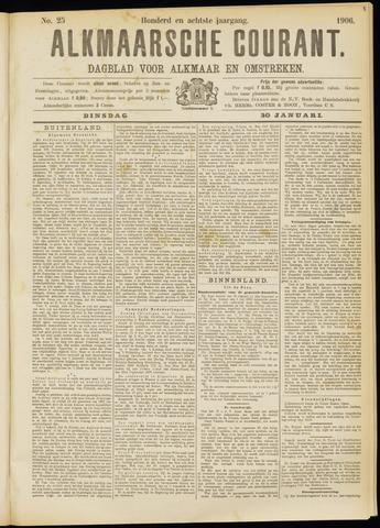 Alkmaarsche Courant 1906-01-30