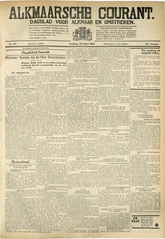Alkmaarsche Courant 1933-04-28
