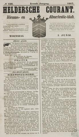 Heldersche Courant 1867-06-05