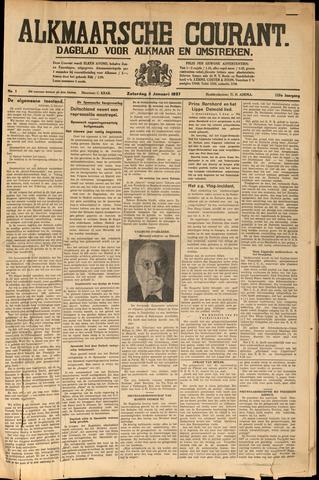 Alkmaarsche Courant 1937-01-02