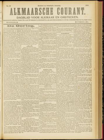 Alkmaarsche Courant 1918-02-20