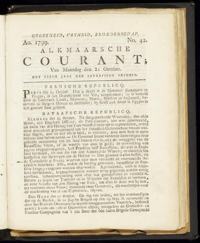 Alkmaarsche Courant 1799-10-21