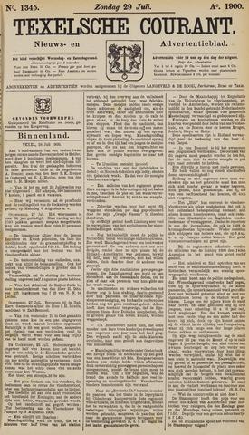 Texelsche Courant 1900-07-29