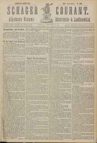 Schager Courant 1920-01-27