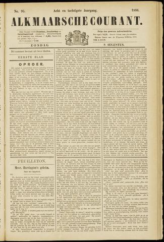 Alkmaarsche Courant 1886-08-08