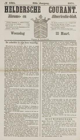 Heldersche Courant 1871-03-22