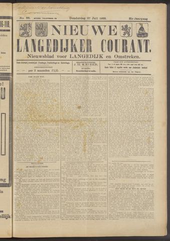 Nieuwe Langedijker Courant 1922-07-27