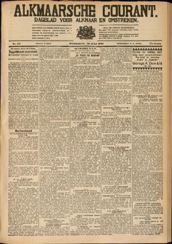 Alkmaarsche Courant 1930-07-30