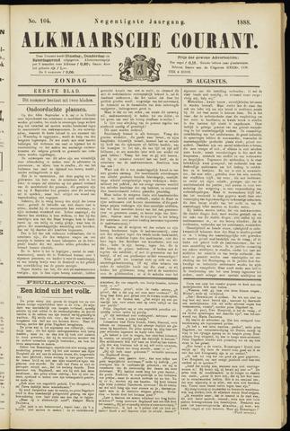 Alkmaarsche Courant 1888-08-26