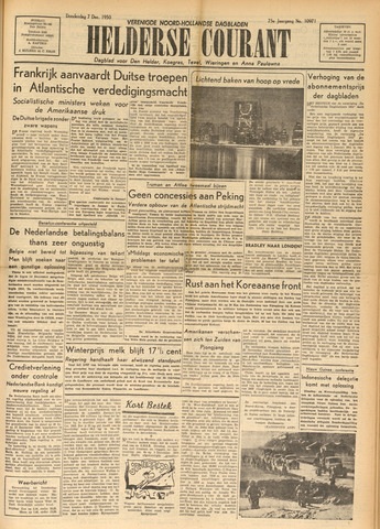 Heldersche Courant 1950-12-07