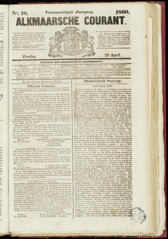 Alkmaarsche Courant 1860-04-29