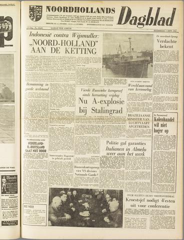 Noordhollands Dagblad : dagblad voor Alkmaar en omgeving 1961-09-07