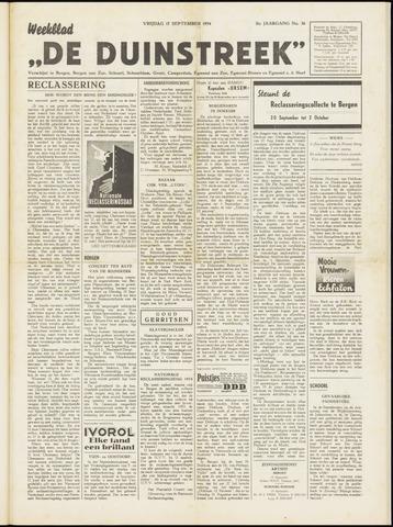 De Duinstreek 1954-09-17
