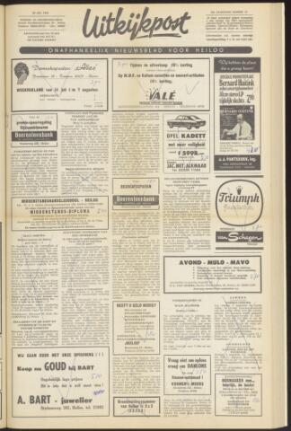 Uitkijkpost : nieuwsblad voor Heiloo e.o. 1969-07-30