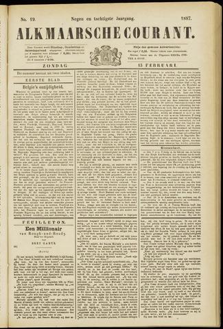 Alkmaarsche Courant 1887-02-13