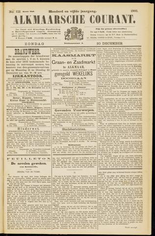 Alkmaarsche Courant 1903-12-20
