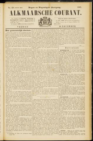 Alkmaarsche Courant 1897-11-19
