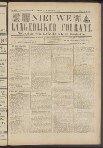 Nieuwe Langedijker Courant 1923-10-16