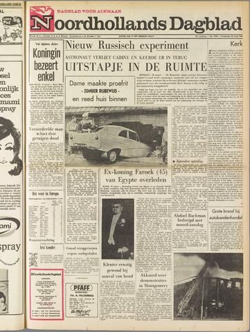 Noordhollands Dagblad : dagblad voor Alkmaar en omgeving 1965-03-18