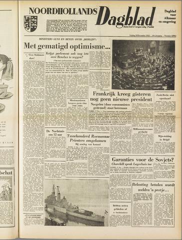 Noordhollands Dagblad : dagblad voor Alkmaar en omgeving 1953-12-18