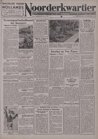 Dagblad voor Hollands Noorderkwartier 1942-02-26