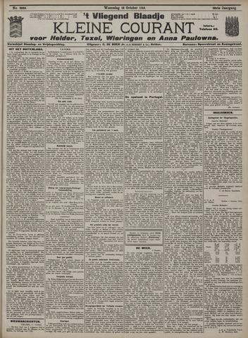 Vliegend blaadje : nieuws- en advertentiebode voor Den Helder 1910-10-12
