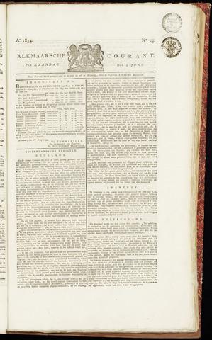 Alkmaarsche Courant 1834-06-09