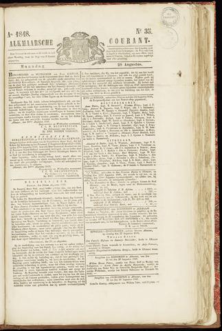 Alkmaarsche Courant 1848-08-28