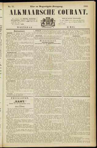 Alkmaarsche Courant 1892-05-11