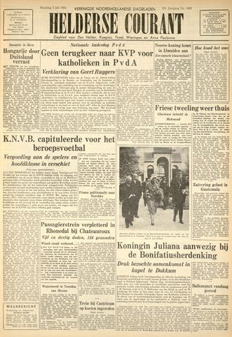 Heldersche Courant 1954-07-05