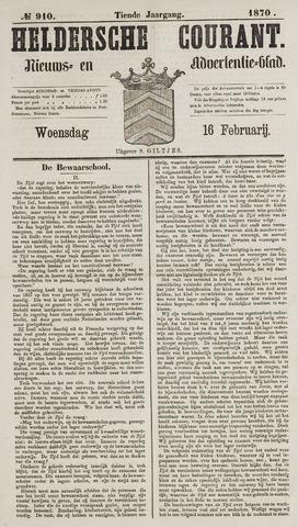 Heldersche Courant 1870-02-16