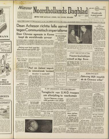 Nieuw Noordhollandsch Dagblad : voor Alkmaar en omgeving 1950-11-30