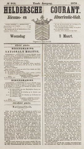 Heldersche Courant 1870-03-02