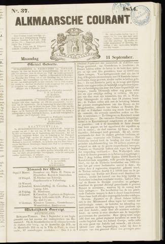 Alkmaarsche Courant 1854-09-11