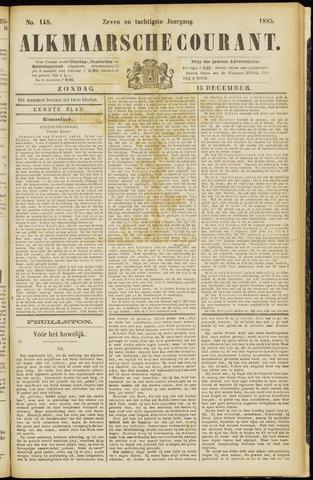 Alkmaarsche Courant 1885-12-13