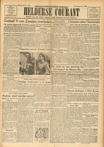 Heldersche Courant 1950-10-30