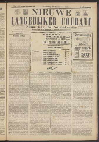Nieuwe Langedijker Courant 1926-12-18