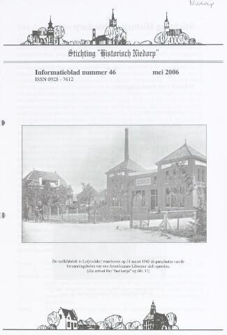Informatieblad stichting Historisch Niedorp 2006-05-01