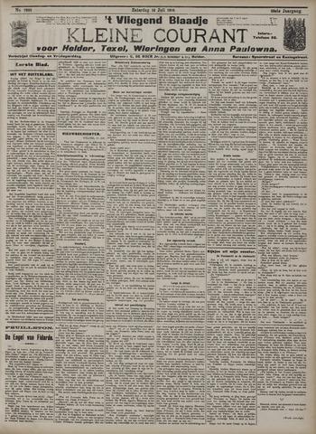 Vliegend blaadje : nieuws- en advertentiebode voor Den Helder 1910-07-16
