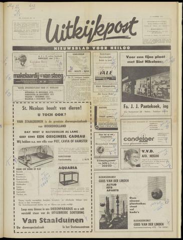 Uitkijkpost : nieuwsblad voor Heiloo e.o. 1972-11-29