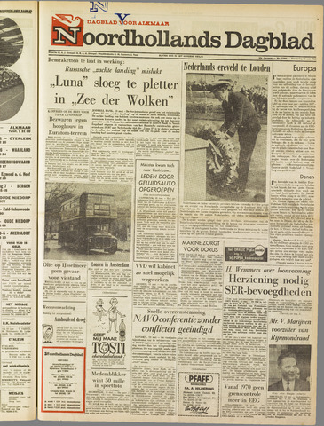 Noordhollands Dagblad : dagblad voor Alkmaar en omgeving 1965-05-13