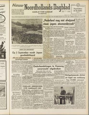 Nieuw Noordhollandsch Dagblad : voor Alkmaar en omgeving 1951-07-13