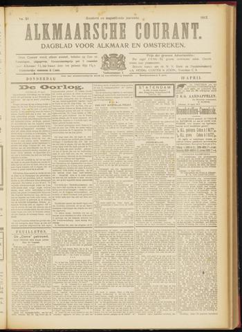 Alkmaarsche Courant 1917-04-19